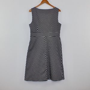 Spense Dresses - Spense Polka Dot Sheath Dress Below The Knee 12